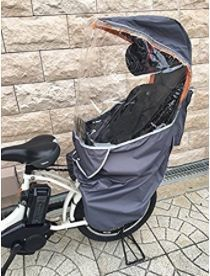AK365 4WAYレインカバー 自転車 チャイルドシート.JPG
